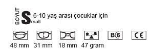 6 - 10 yaş arası çocuklar için Progear - eyeguard spor gözlüğü özellikleri